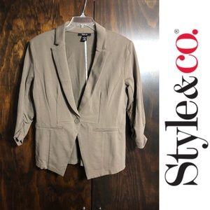 Style&Co. - Gray Blazer